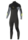 /16 Rip Curl Dawn Patrol 3/2mm GBS CHEST ZIP Wetsuit in GREY WSM4AM Sizes- - Medium -