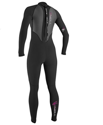 O'Neill Wetsuits Damen Neoprenanzug Reactor 3/2 mm Full Wetsuit, Black, 6, 3800-A05 -