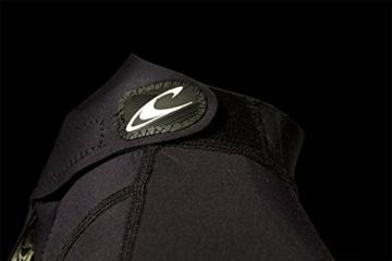 O'Neill Wetsuits Herren Neoprenanzug Reactor 2 mm Spring Wetsuit, Black, S, 3799-A05 -
