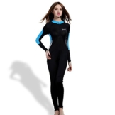 OXA Damen Vollkörper Tauchanzug aus Lycra zum Schnorcheln und Tauchen Lady (SCHWARZ, M) -