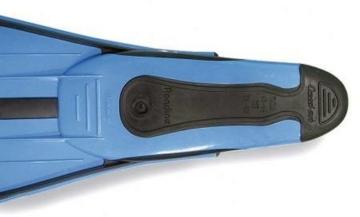 Cressi Unisex Flossen Rondinella, aquamarine, 37/38, CA186337 -